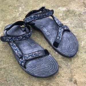 Teva Womens 9 Sandals 6462 Sport Hiking Walking